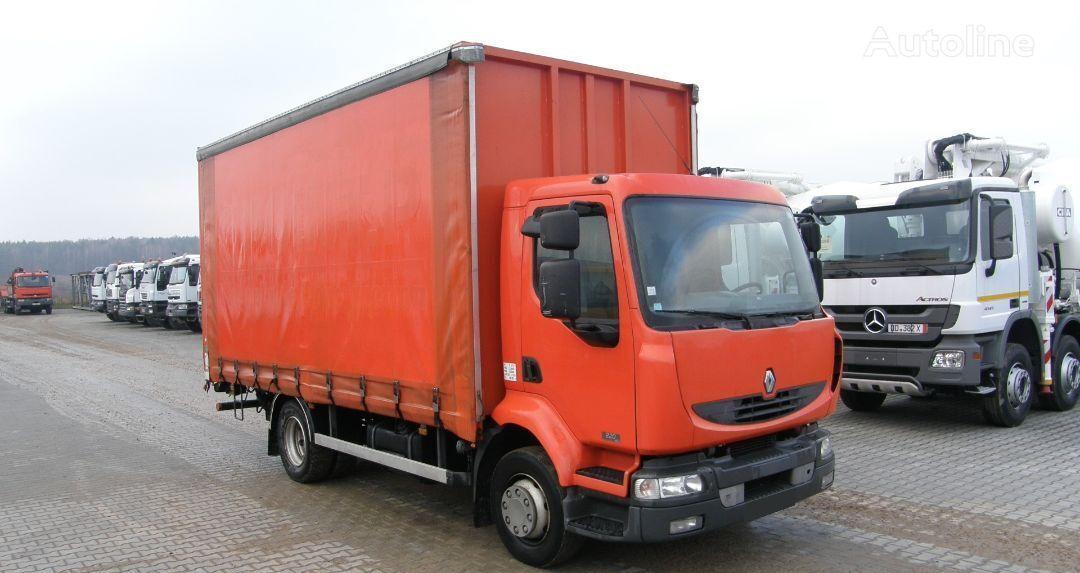 ciężarówka plandeka RENAULT KERAX 220