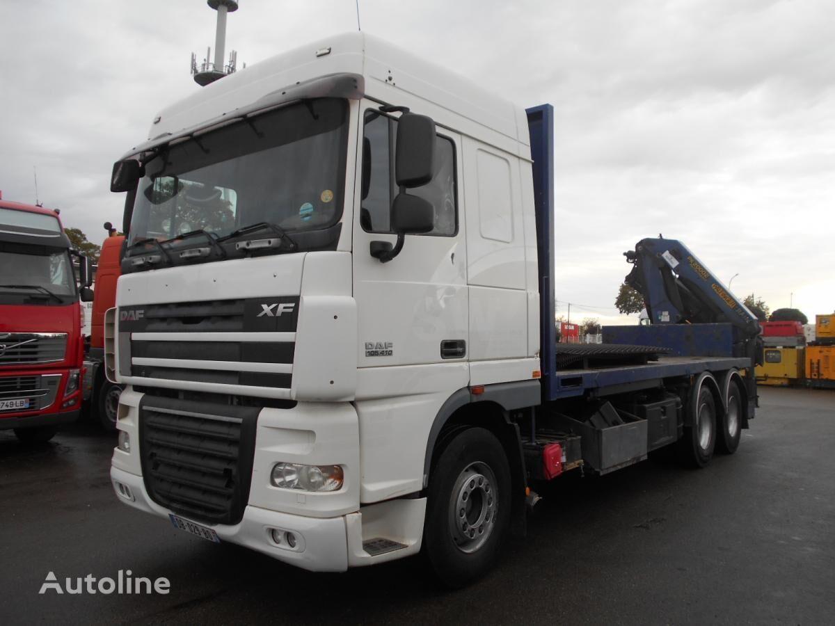 ciężarówka platforma DAF XF105 410