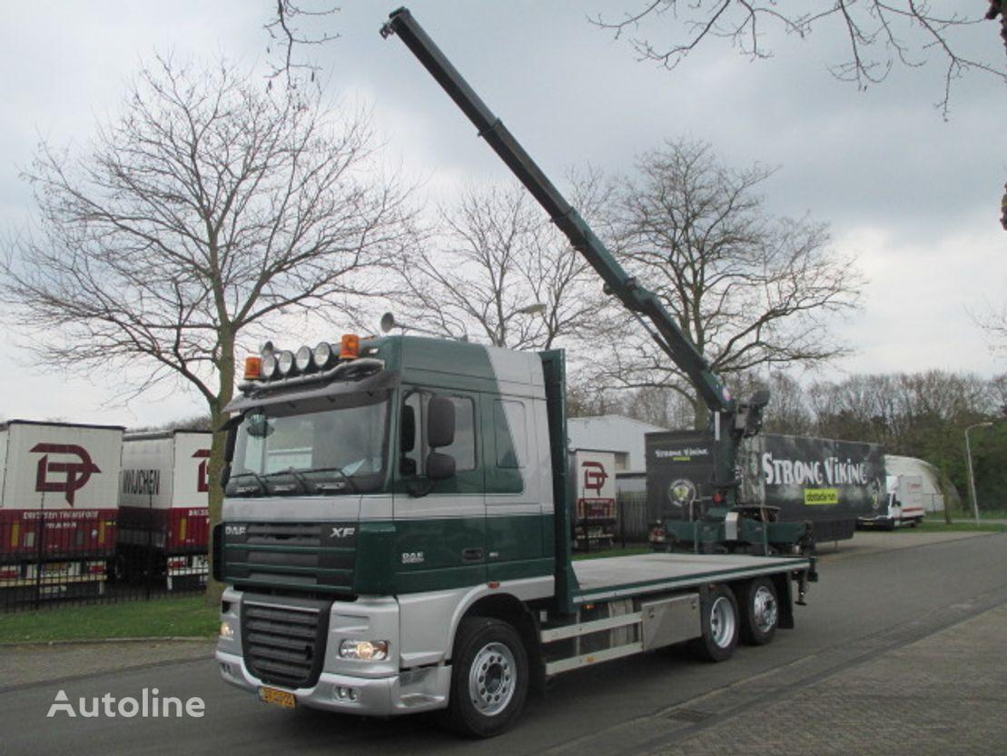 ciężarówka platforma DAF xf