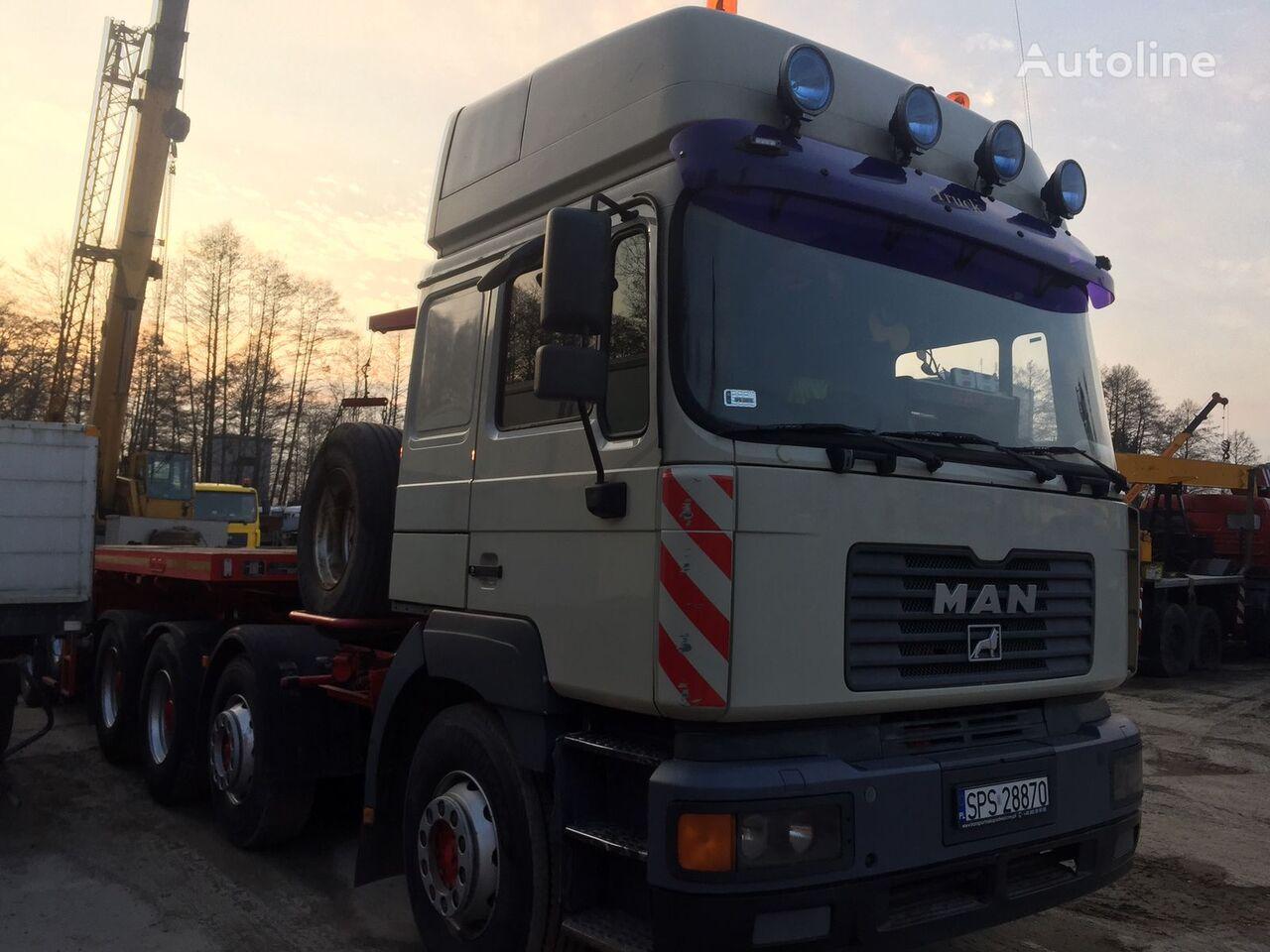 ciężarówka platforma MAN E75
