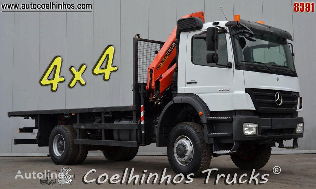 ciężarówka platforma MERCEDES-BENZ 1828 Axor // 4x4