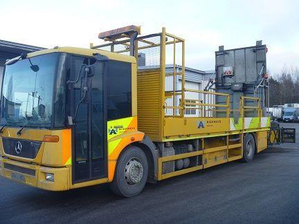 ciężarówka platforma MERCEDES-BENZ Econic 1824LL