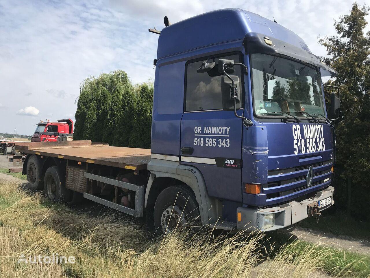 ciężarówka platforma RENAULT Major