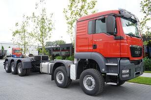 ciężarówka podwozie MAN TGS 50.480 10 × 8-8 BB / EURO 5 / FACTORY NEW