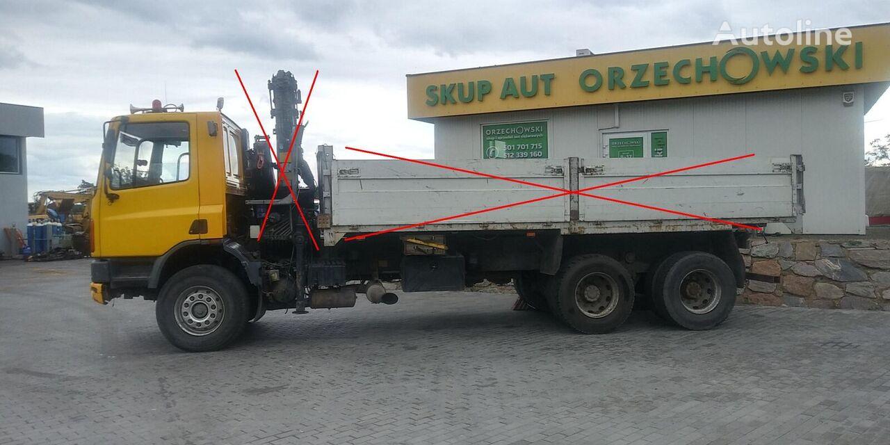ciężarówka podwozie DAF CF 75 270