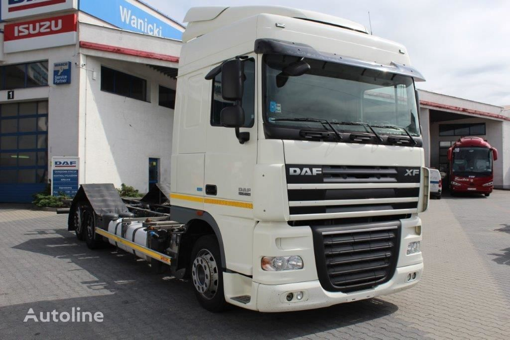 ciężarówka podwozie DAF FAR 2013 XF 460 BDF