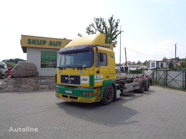 ciężarówka podwozie MAN 26