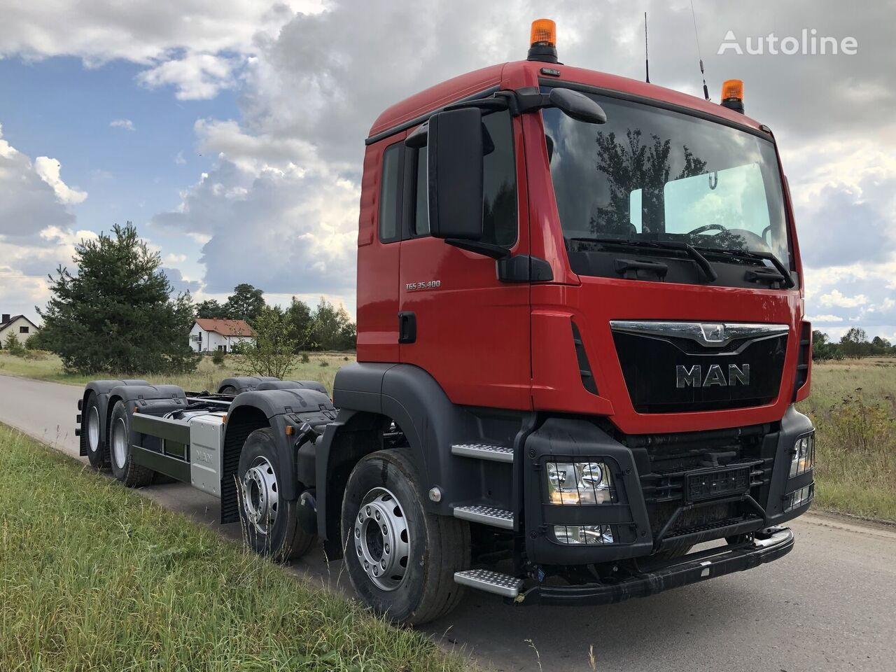 nowa ciężarówka podwozie MAN TGS 35.400 8x2-4 BL