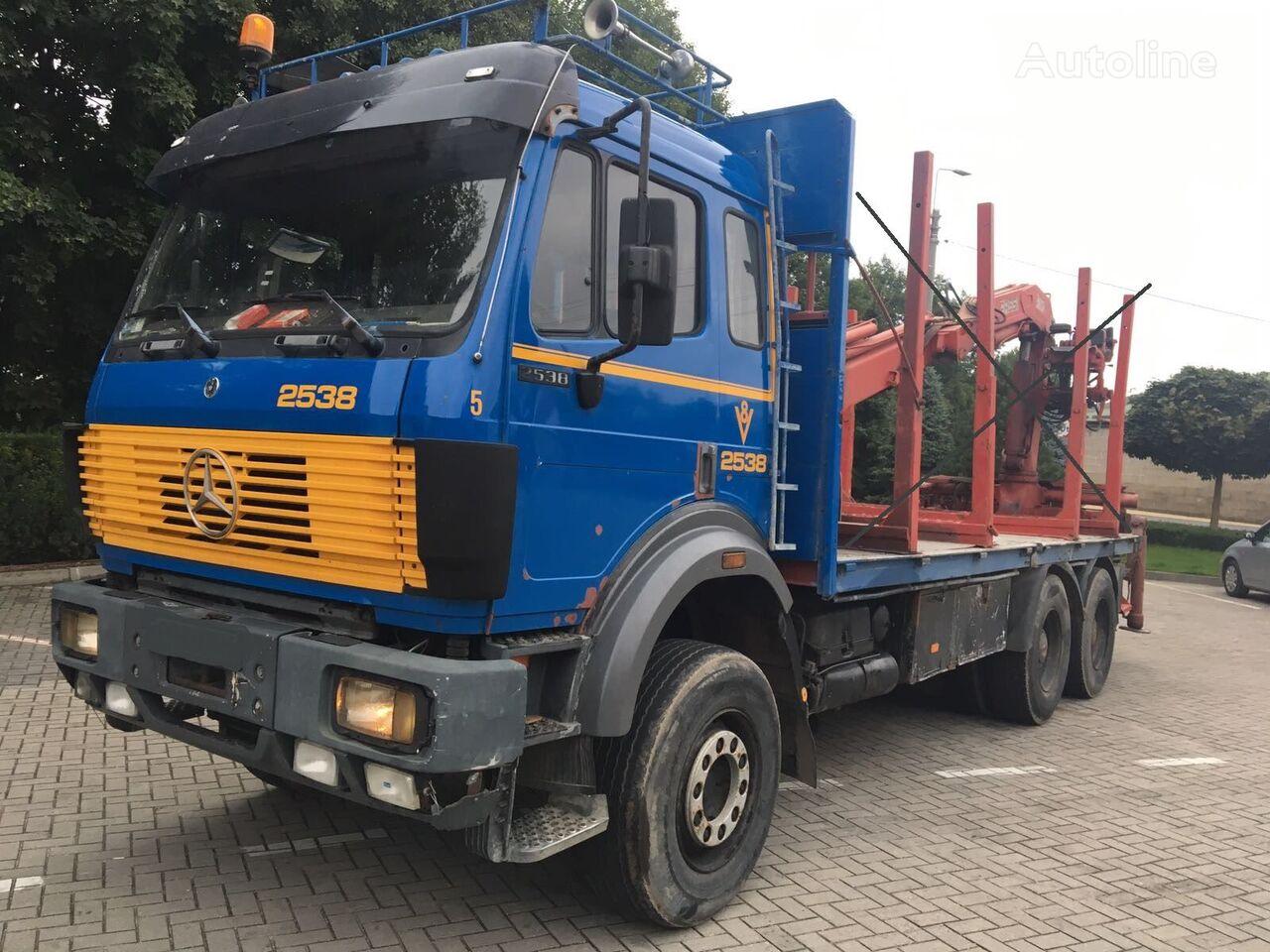 ciężarówka podwozie MERCEDES-BENZ 2538  6x4, full spring, without crane