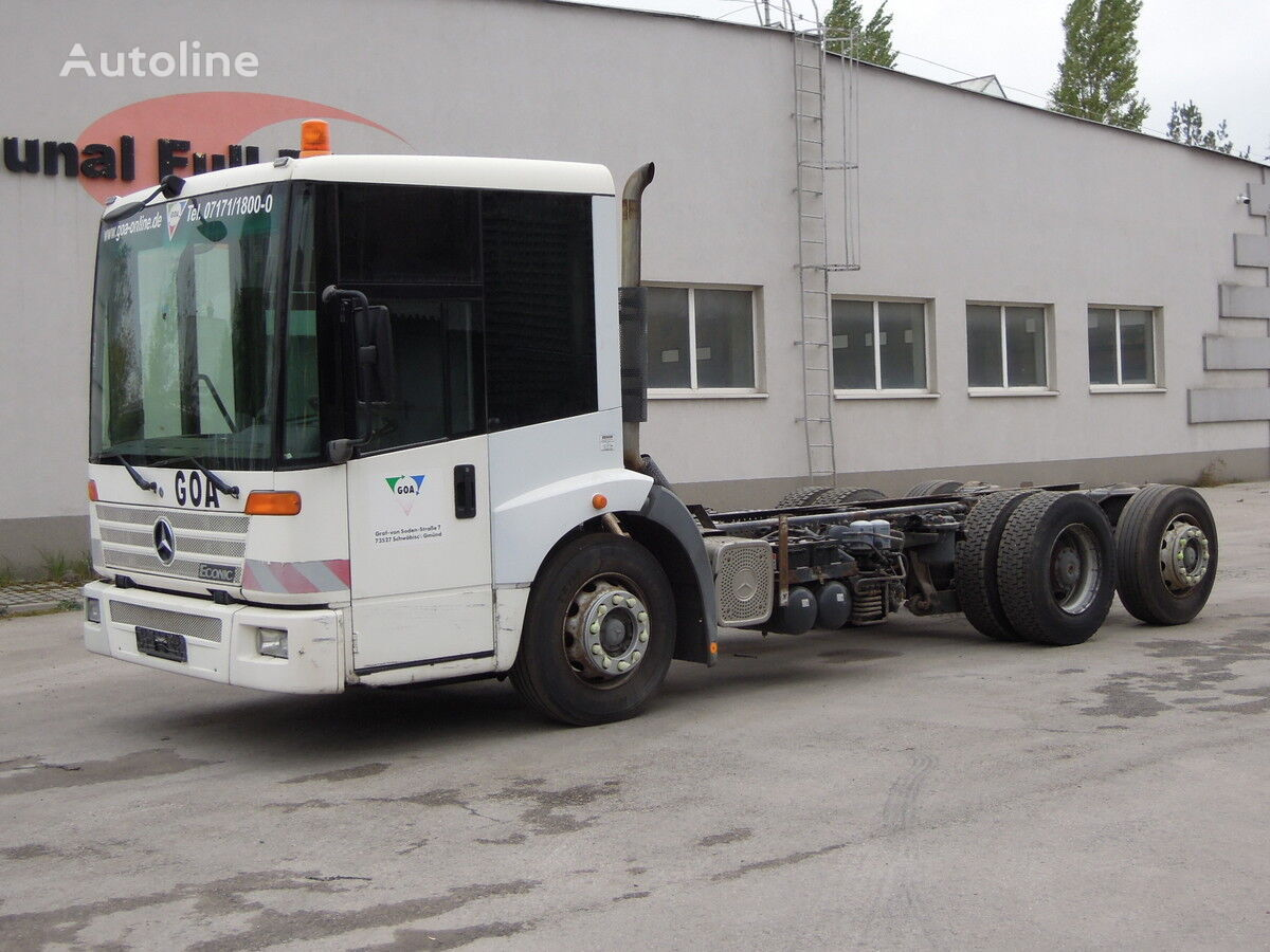 ciężarówka podwozie MERCEDES-BENZ 26-28 Econic Podwozie rama 5,7m 6 metrów