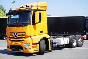 ciężarówka podwozie MERCEDES-BENZ Antos 2540, E6, 6x2, chassis 6.9m, steer / lift axle , etarder