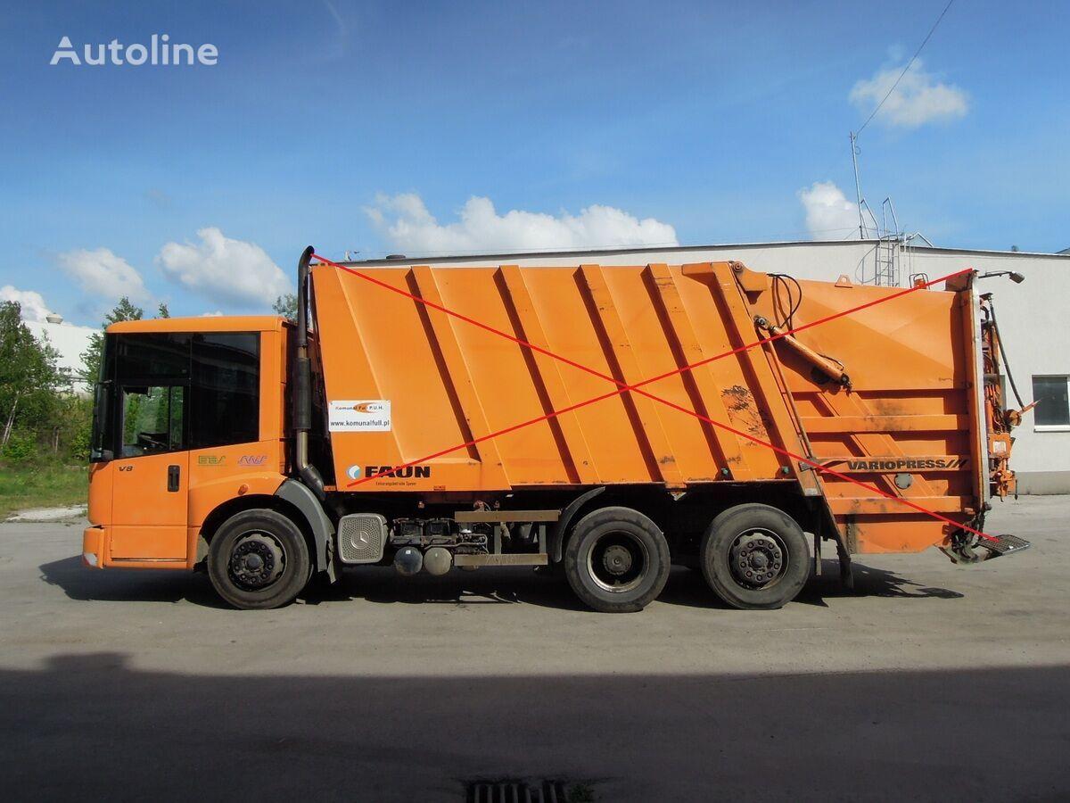 ciężarówka podwozie MERCEDES-BENZ Econic garbage truck frame chassis FAUN