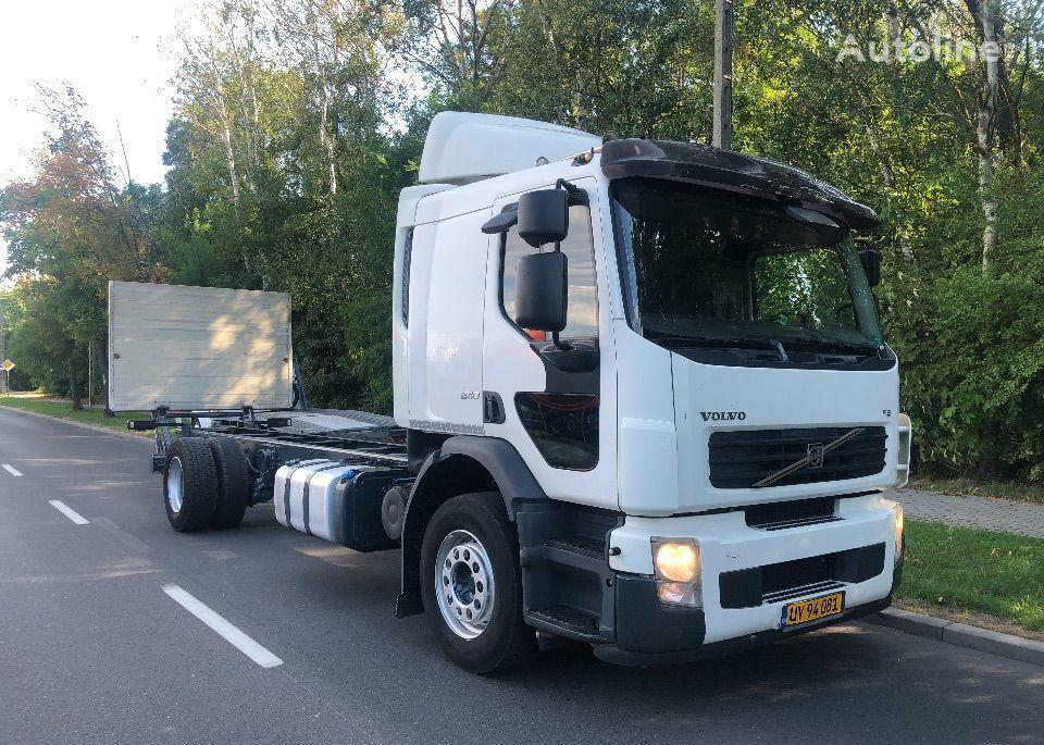 ciężarówka podwozie VOLVO FE 240 SYPIALKA 400TYS KM