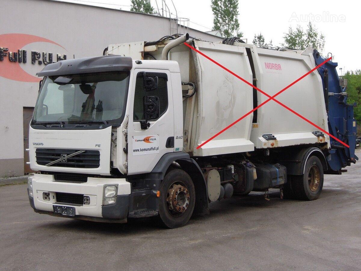 ciężarówka podwozie VOLVO FE 240 podwozie rama do zabudowy 5 metrów