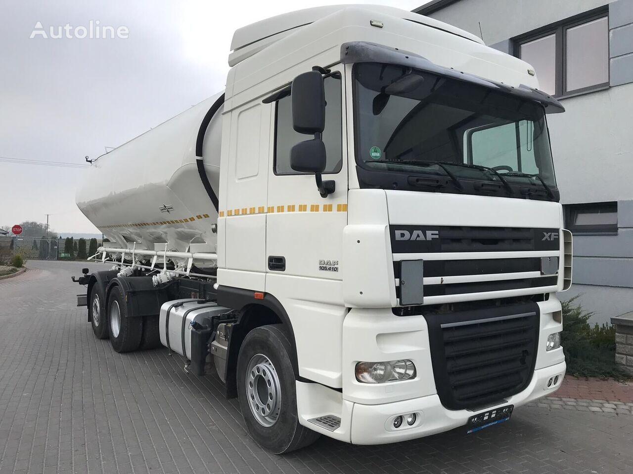 ciężarówka silos DAF 105.410 6X2 2014 | SPITZER 31m 2008 silo