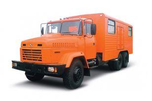 nowa ciężarówka wojskowa KRAZ 65053 мастерская