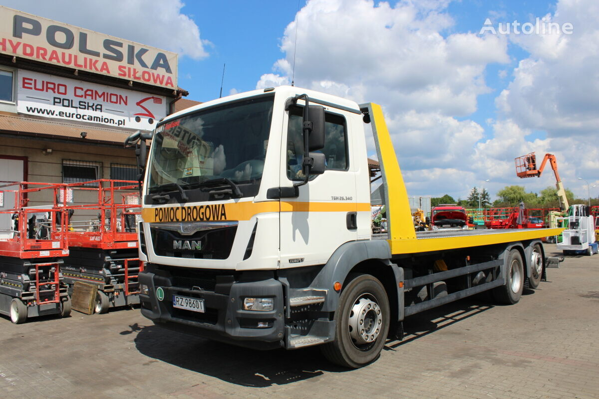 laweta MAN TGM 26.340 (depanagge, assistance, iveco, volvo, mercedes, sacan