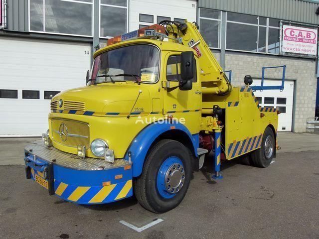 laweta MERCEDES-BENZ LAK 1513 / 4x4 / Uniek Bergingsvoertuig - Recovery Truck