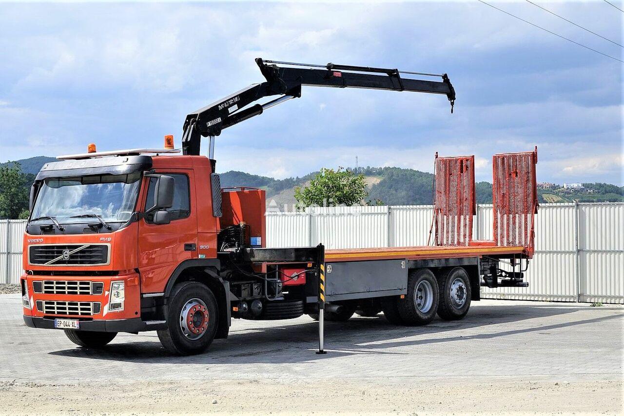 laweta VOLVO  FM9 300 Abschleppwagen 8,90m + Kran *6x2*