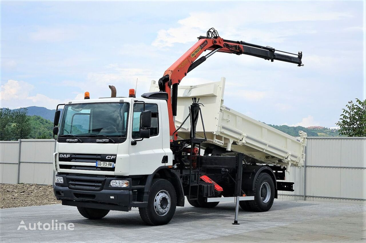 wywrotka DAF CF 75.250 +Bordmatic