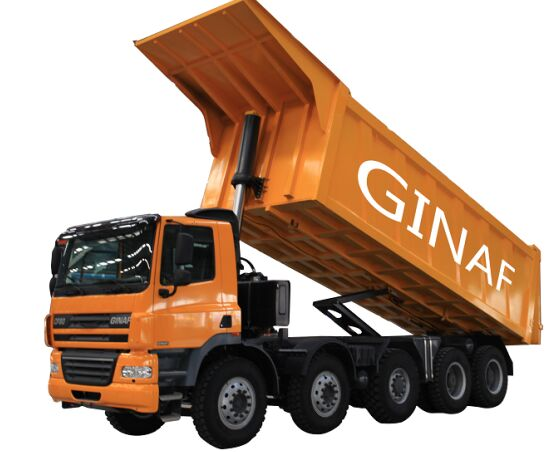 nowa wywrotka GINAF HD 5380 T Made by DAF