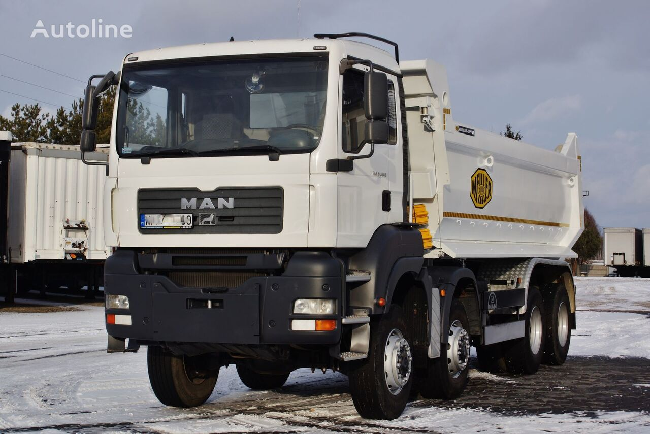 wywrotka MAN TGA 41.440 8X6 MEILLER KIPPER S1 MANUAL 2007