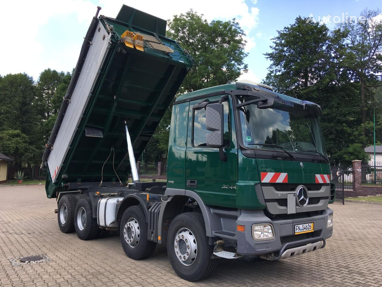 wywrotka MERCEDES-BENZ 3244 ACTROS MP3