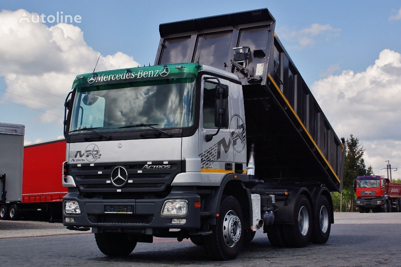 wywrotka MERCEDES-BENZ ACTROS 26410 6X4 3 SIDE KIPPER EPS / GERMAN TRUCK TOP_ZUSTAND !