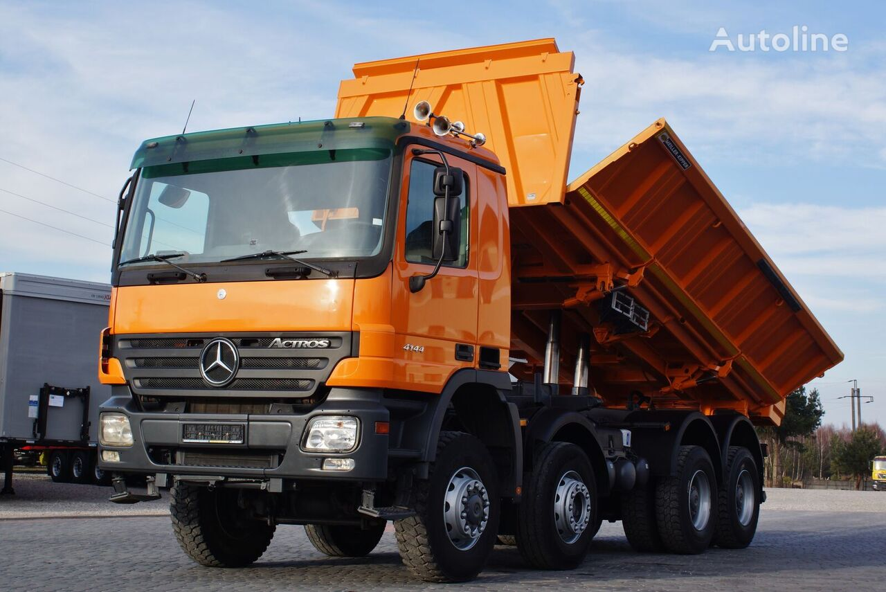 wywrotka MERCEDES-BENZ ACTROS 4144 BORDMATIC * GERMAN TRUCK *