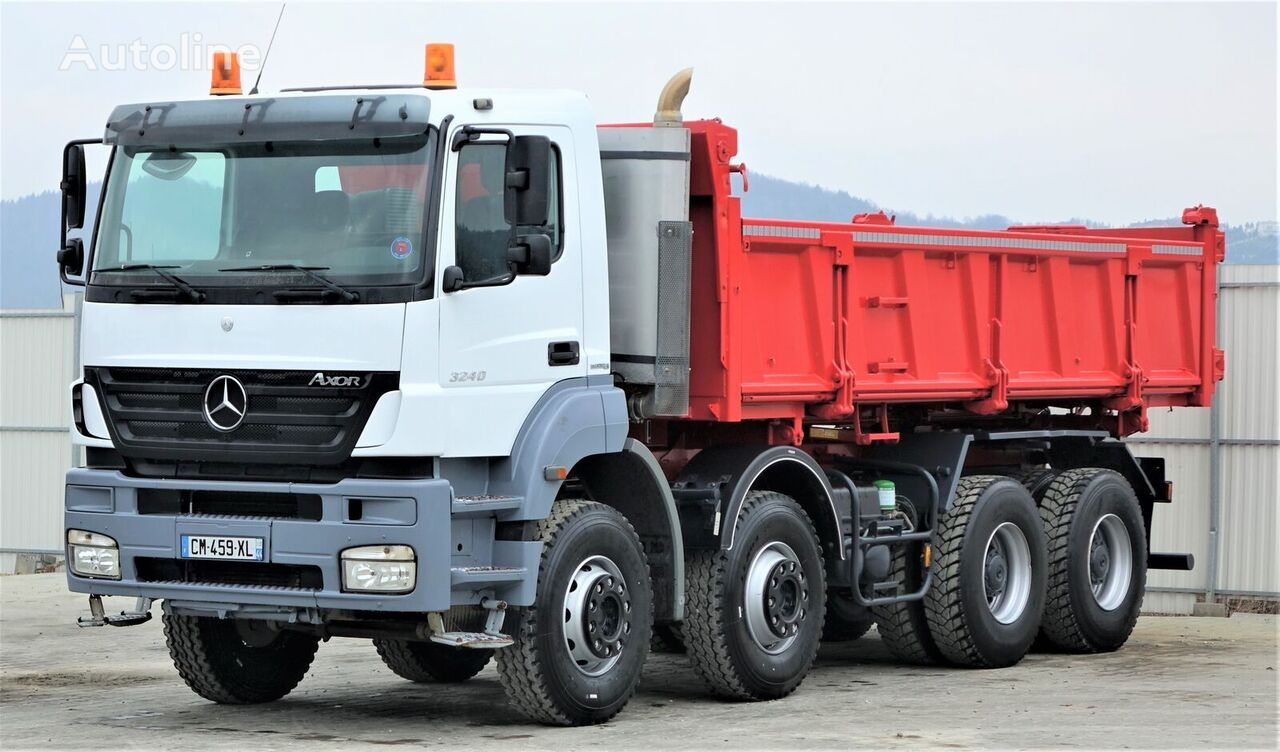 wywrotka MERCEDES-BENZ Axor 3240 Kipper+Bordmatic 5,80m