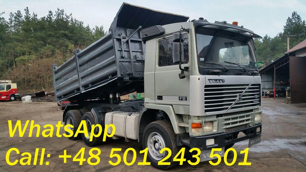 wywrotka VOLVO F12 360 6X4 Tipper/Full Spring/Steel (F10/F16/FH12/FH16)