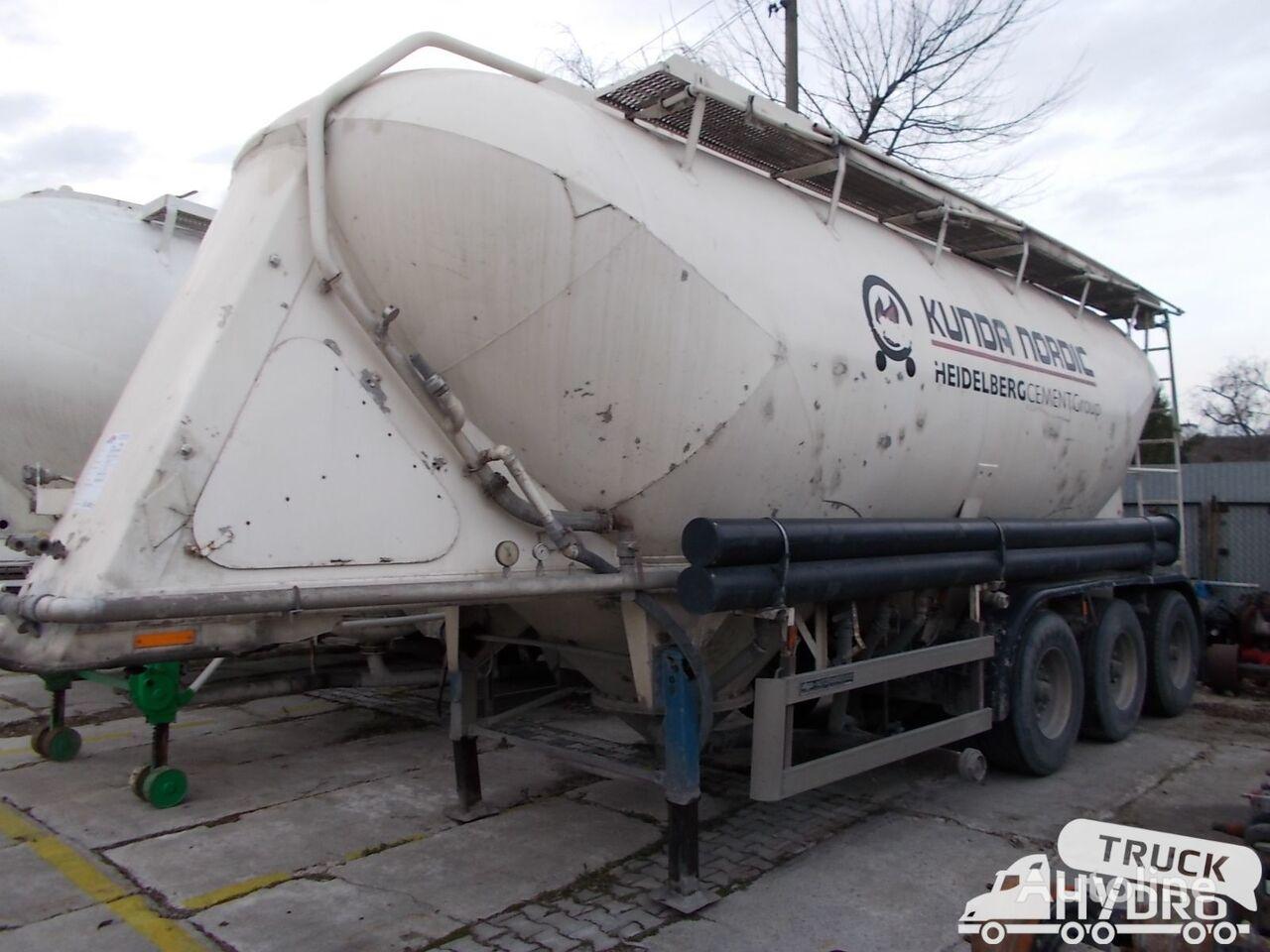 cysterna cementowóz KASSBOHRER SSL33/10-24