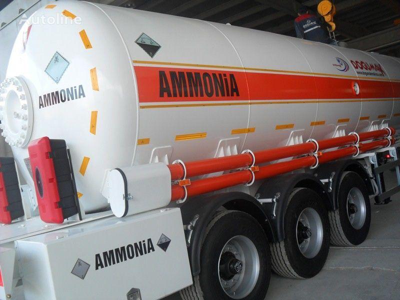 nowa cysterna gazowa DOĞUMAK AMMONIA NH3