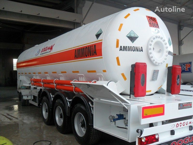 nowa cysterna gazowa DOĞUMAK AMMONIA NH3 35M3