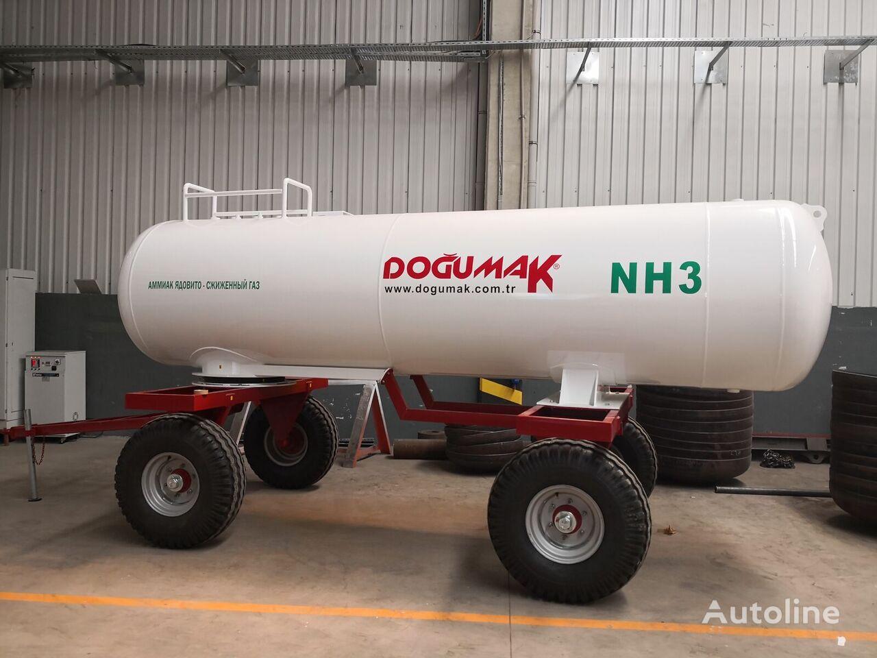nowa cysterna gazowa DOĞUMAK Ammonia fertilizer application Tank (NH3) 5,5 M3