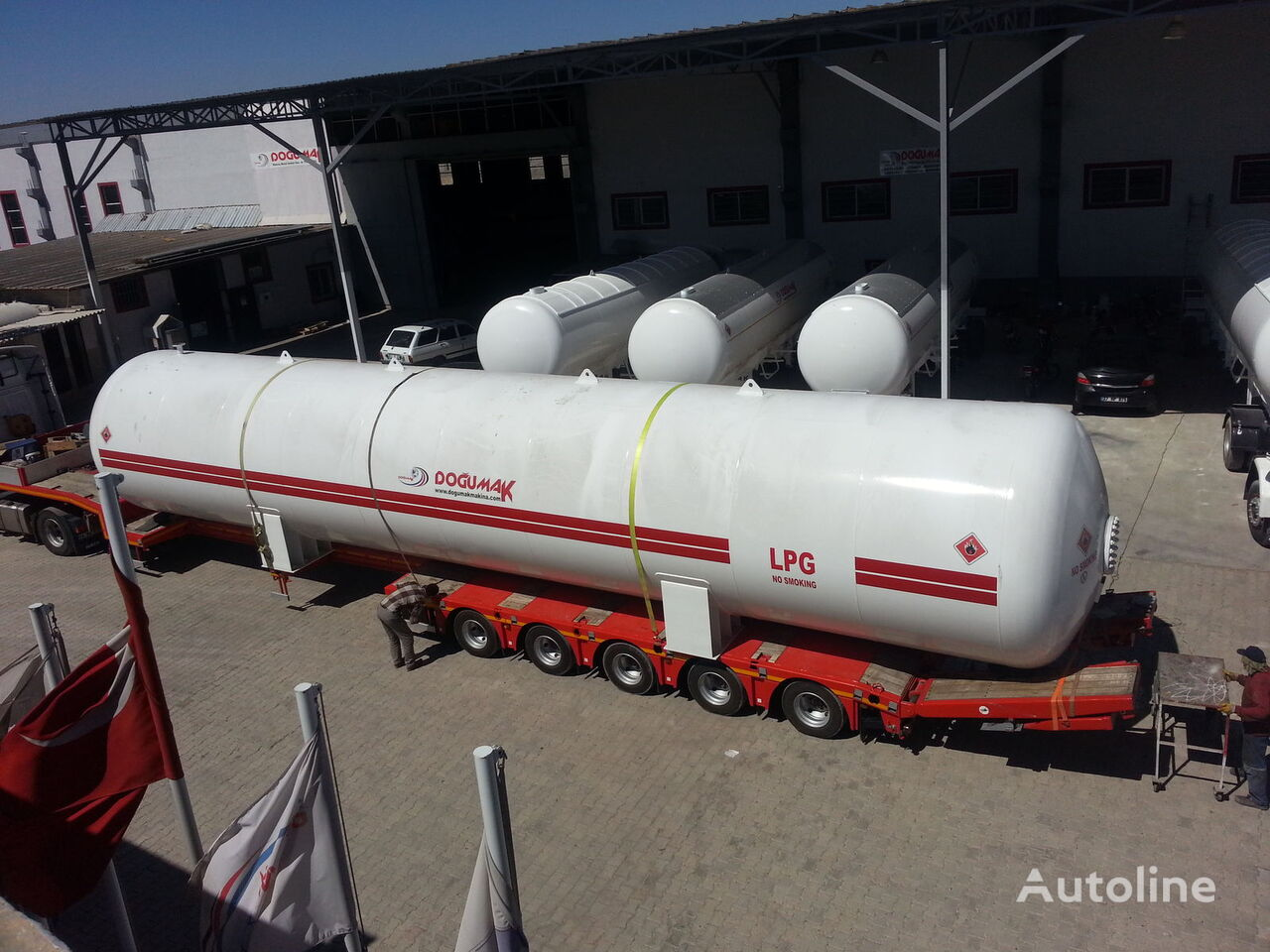 nowa cysterna gazowa DOĞUMAK INDUSTRIAL LPG STORAGE TANKS