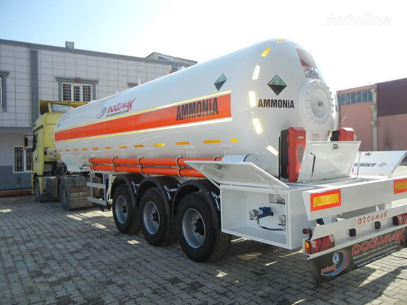nowa cysterna gazowa DOĞUMAK SEMI-TRAILER  35M3 AMMONIA (NH3)