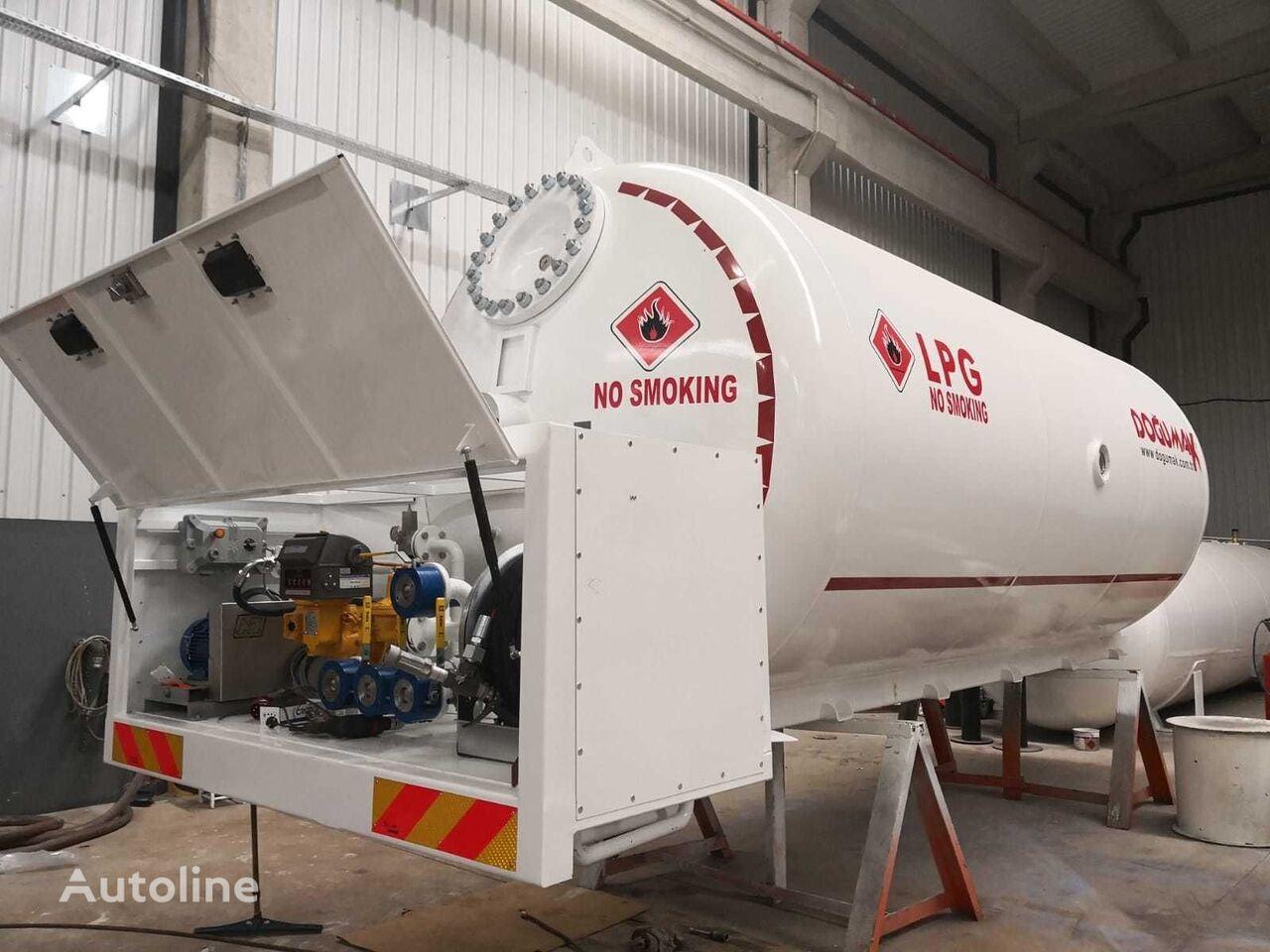 nowa cysterna gazowa DOĞUMAK bobtail tank 24000 liter gas, LPG , GPL , GAZ, PROPANE, BUTANE
