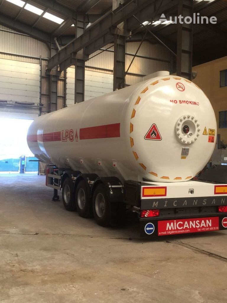 nowa cysterna gazowa Micansan 2019 READY FOR SHIPMENT NEW MODEL EXCELLENT PRODUCT 50 M3