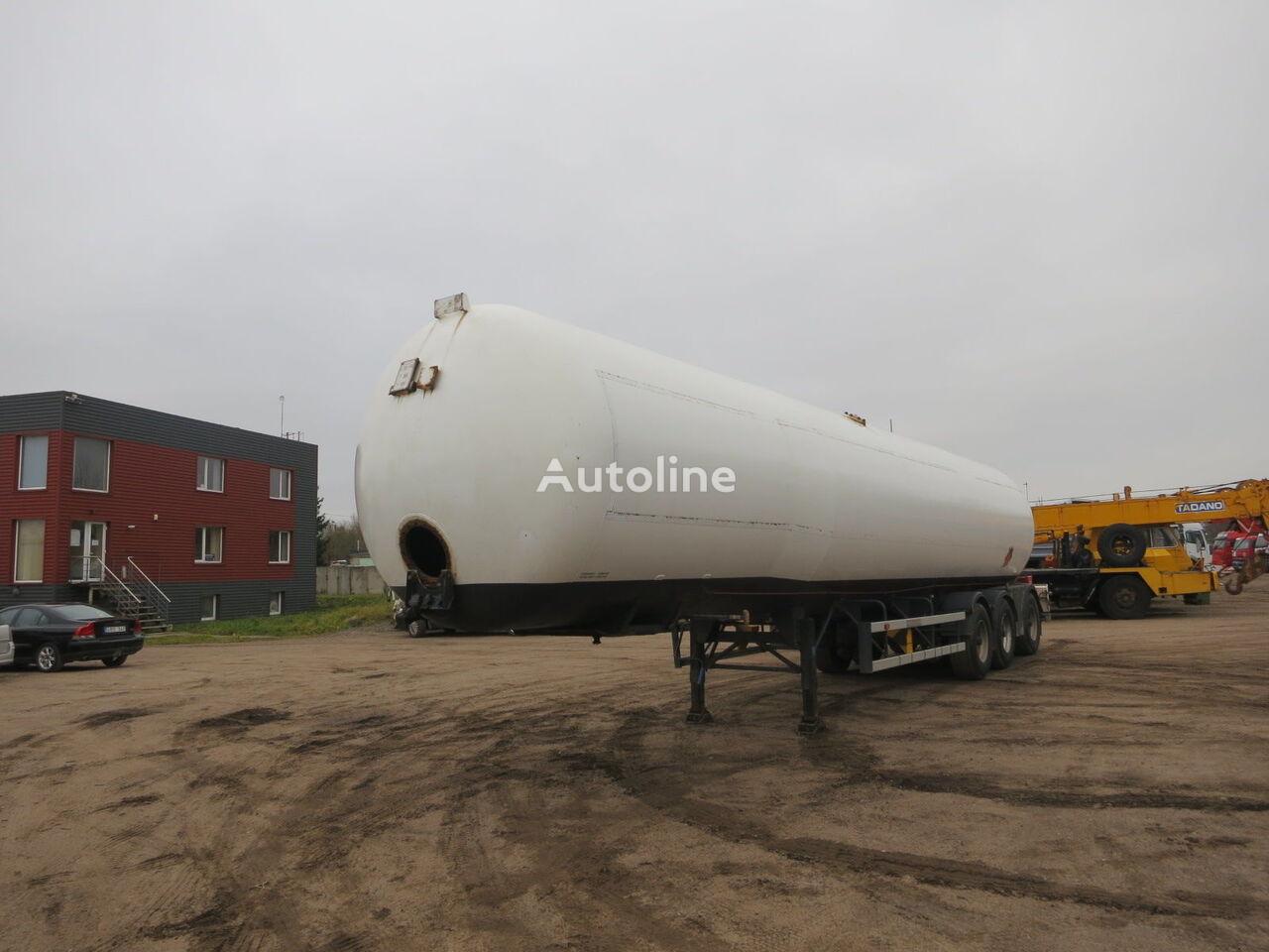 cysterna gazowa OMSP MACOLA 63 000 liter.