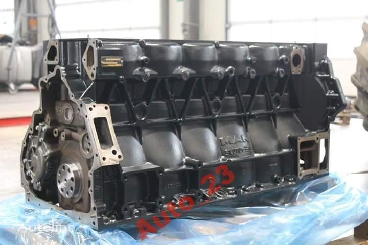 blok silnika MAN Crankcase TGA D20 TGX D20 400 430 440 do ciężarówki