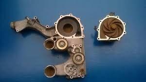 inne części do układu chłodzenia TGA TGX Obudowa Pompy Wody Pritarder Pritarder D20  MAN D26 do ciężarówki