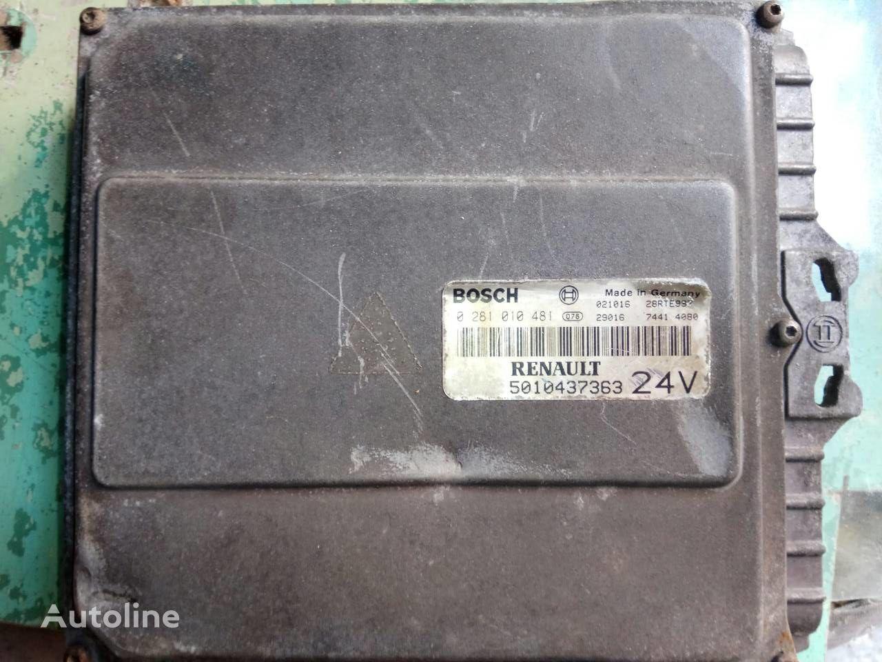 jednostka sterująca BOSCH 0281010481 do ciężarówki RENAULT Magnum E-TECH 440