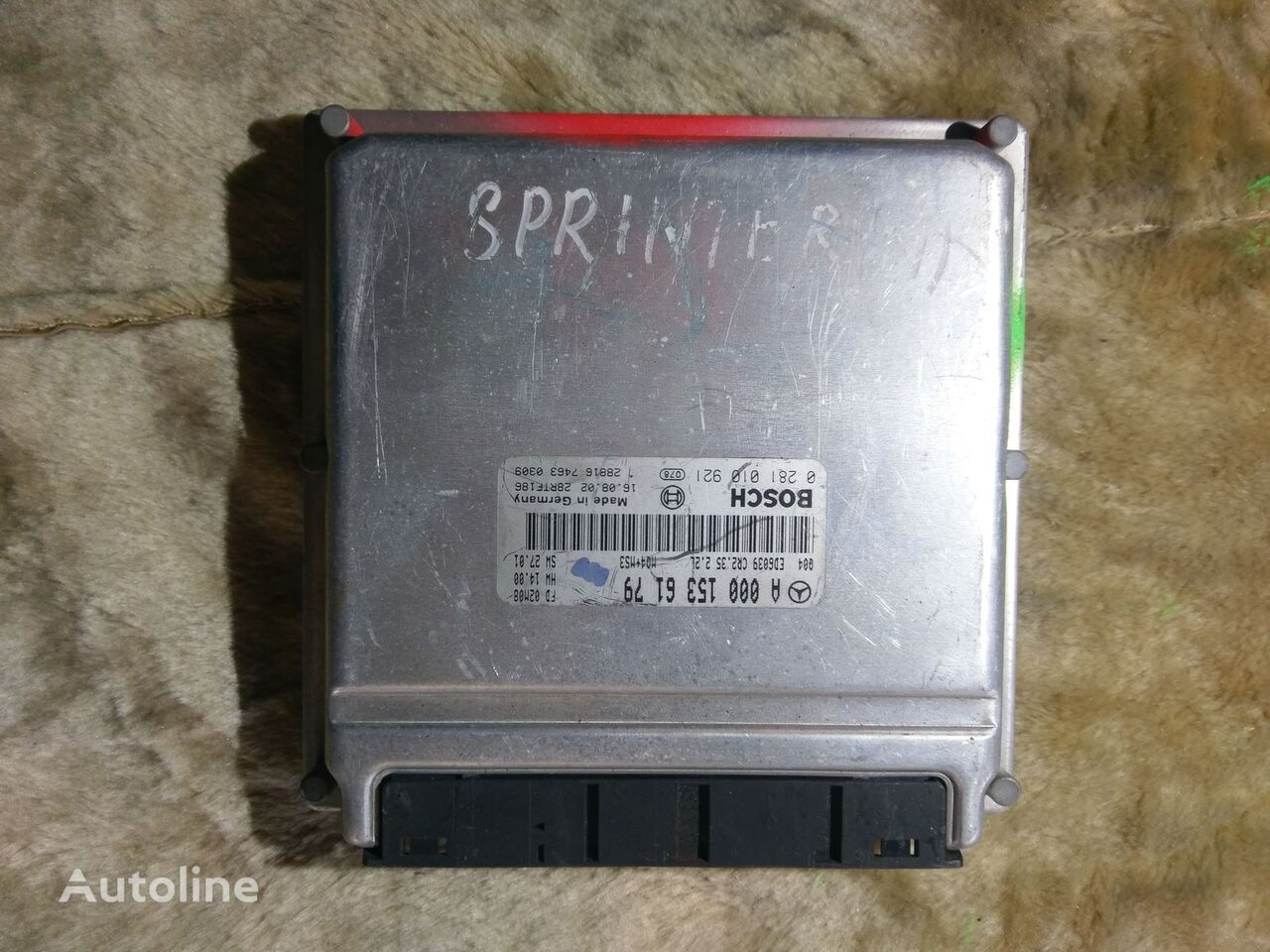 jednostka sterująca BOSCH A0001536179 0281010921 do samochodu dostawczego MERCEDES-BENZ SPRINTER