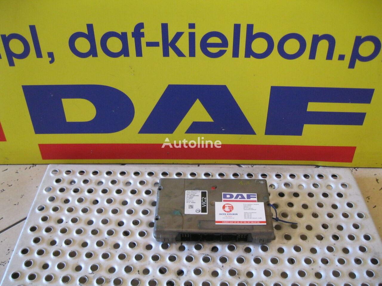 jednostka sterująca DAF STEROWNIK VIC 2 1.1 1.0 do ciągnika siodłowego DAF XF 105 / CF 85