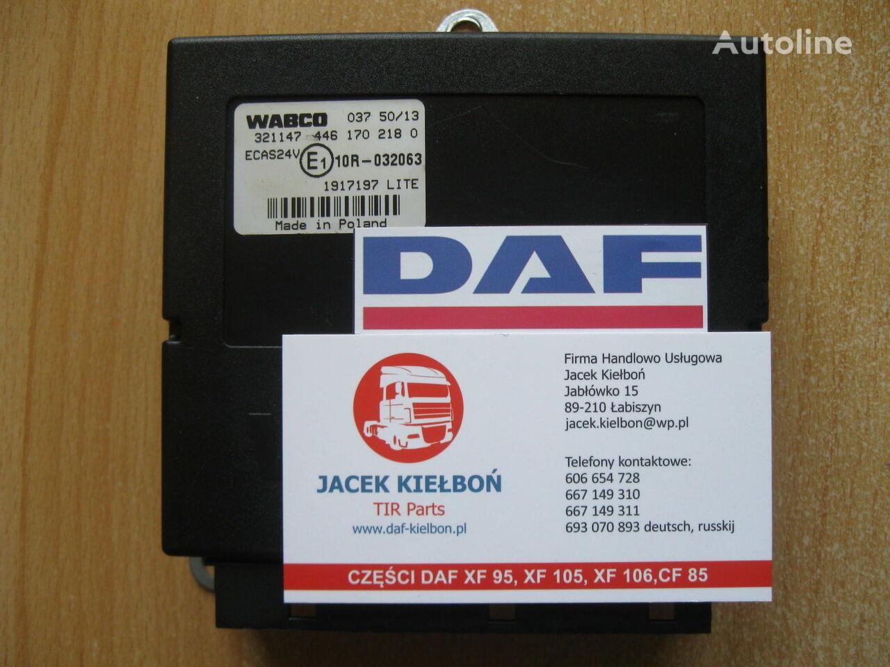 jednostka sterująca DAF Sterownik poduszek zawieszenia ECAS do ciągnika siodłowego DAF XF 106