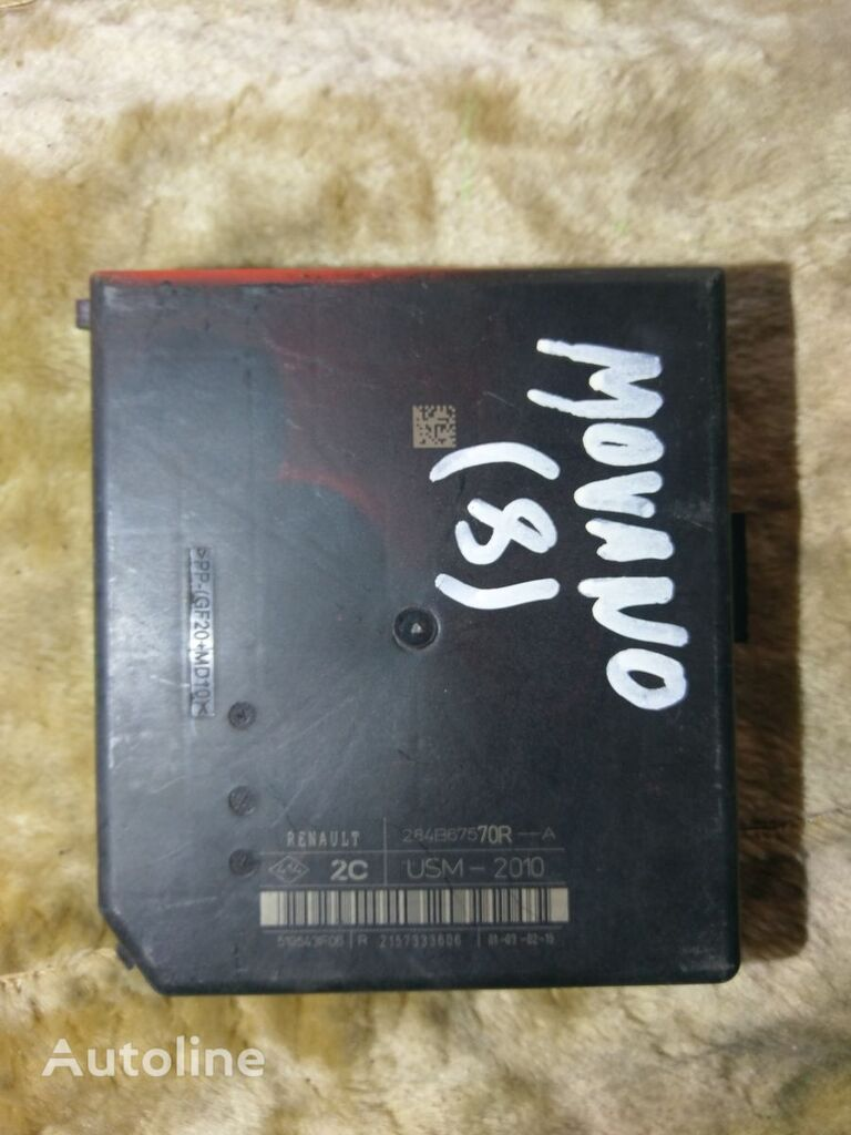 jednostka sterująca RENAULT 2157333606 USM-2010 284B67570R--A do samochodu dostawczego OPEL MOVANO