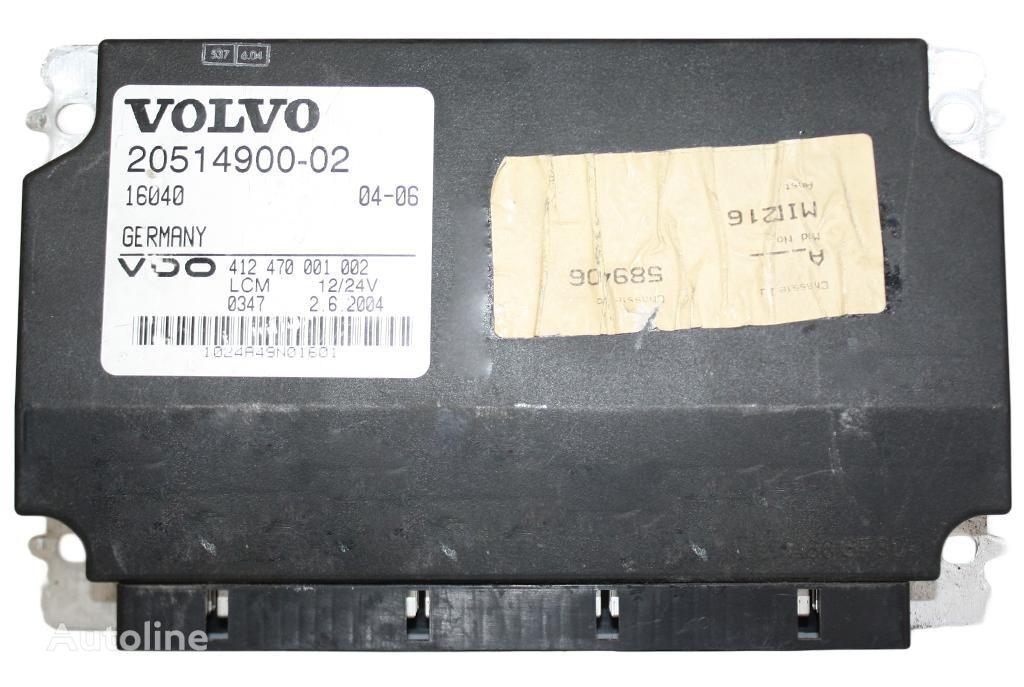 jednostka sterująca VOLVO LCM 20514900 -02 šviesos Siemens VDO do ciągnika siodłowego VOLVO