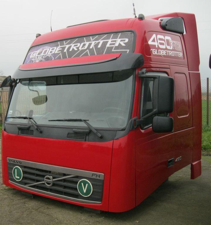 kabina VOLVO GLOBETROTTER XL LIFT do ciągnika siodłowego