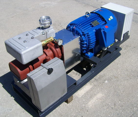 kompresor pneumatyczny aggregate with 30kW electric engine and CG80 do cysterny naczepy